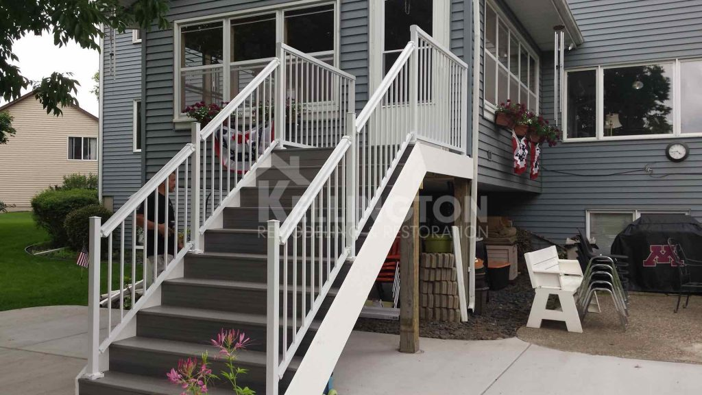 Kellington restoration and remodeling deck before and after
